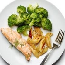 dieta somon cu broccoli