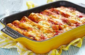 Cannelloni cu carne de vită și sos bechamel - rețetă